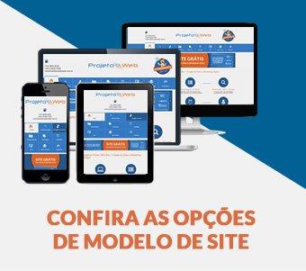 Modelos de Sites Padrão Simples