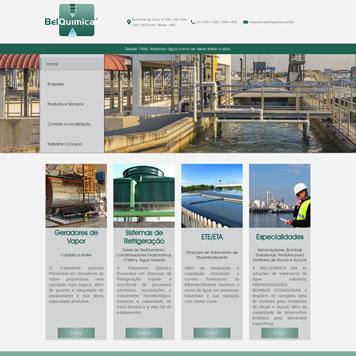 Criação de Site para BelQuimica