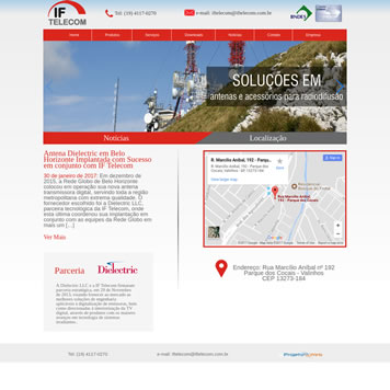 Webdesigner Sites Campinas SP