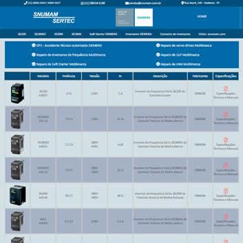 Sistema Gerenciador de Sites Valinhos SP