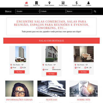 Sistema Gerenciador de Sites