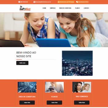 Site Empresarial Moderno Modelos Padrão